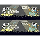 Practicon 512075 ''Your Smile Rocks'' Laser Card (50 Cards per Pack, 200 Total)