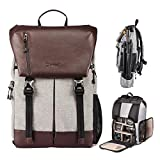TARION RB-02 Camera Backpack with Waterproof Rain Cover and Laptop Compartment for SLR/DSLR/Mirrorless