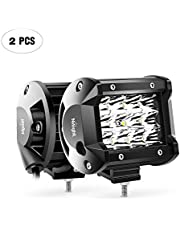 Deal on LED Light Bar Nilight 4Inch 2PCS Triple Row Spot Led Bar Driving Lights Boat Lights Fog Light Led Off Road Lights for Trucks,2 Years Warranty. Discount applied in price displayed.
