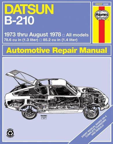1978 datsun b 210 - 1