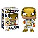 Marvel Iron Fist White Costume Pop! Vinyl Bobble Figure - FCBD Previews Exclusive