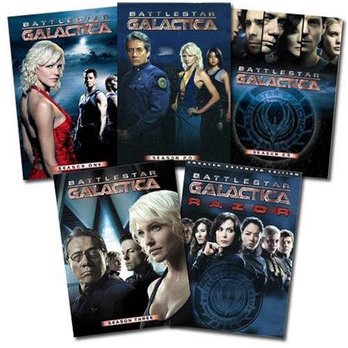 Amazon.com Exclusive: Battlestar Galactica Franchise Collection (Season One | Season 2.0 | Season 2.5 | Season 3.0 | BSG Razor) by