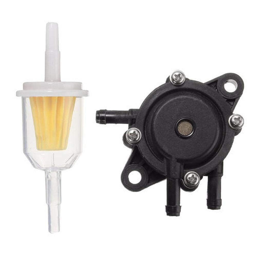 Lawn Mower Engine Gas Fuel Pump Filter For Kohler Briggs Stratton Kawasaki 25 HP COD generic
