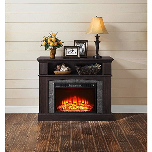 "Whalen 50"" Media Fireplace, Espresso"