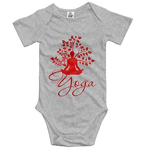 Price comparison product image PaBa Yoga Action Sport Short Sleeve Baby Boy Clothes One-Piece Bodysuit Jumpsuit Unisex