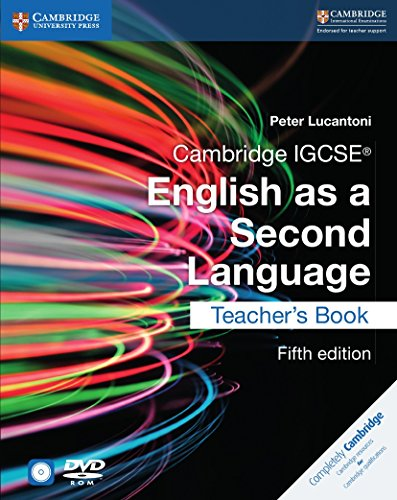 Cambridge IGCSE® English as a Second Language Teacher's Book with Audio CDs (2) and DVD (Cambridge International IGCSE) by Cambridge University Press