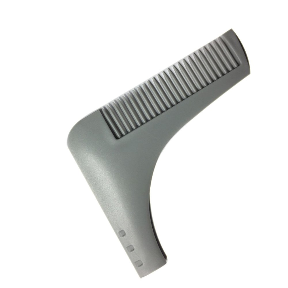 Men's Styling Tools 1pcs Perfect Lines Symmetry Beard Shaping Shaving Tool Comb For Beard Man Beauty