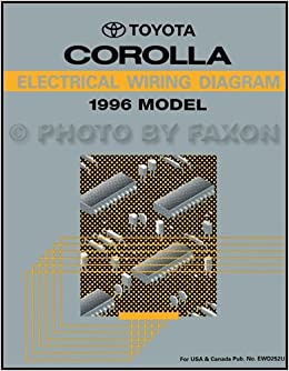 1996 toyota corolla electrical wiring diagrams service manual: toyota:  amazon com: books