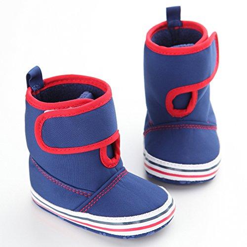 leap frog  Eskimo Snow Boots, Baby Jungen Krabbelschuhe & Puschen Blau