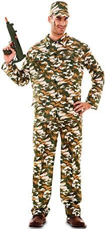 Fyasa 706070-t04 Militar disfraz de hombre, grande: Amazon.es ...
