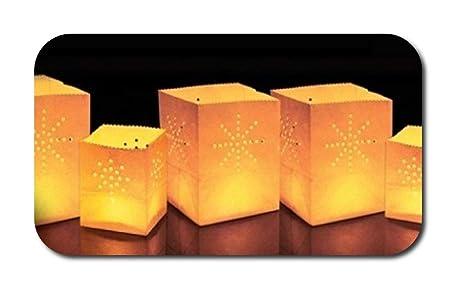 Balloominate Sky Lanterns - Mamparas de Papel para Velas (24 ...