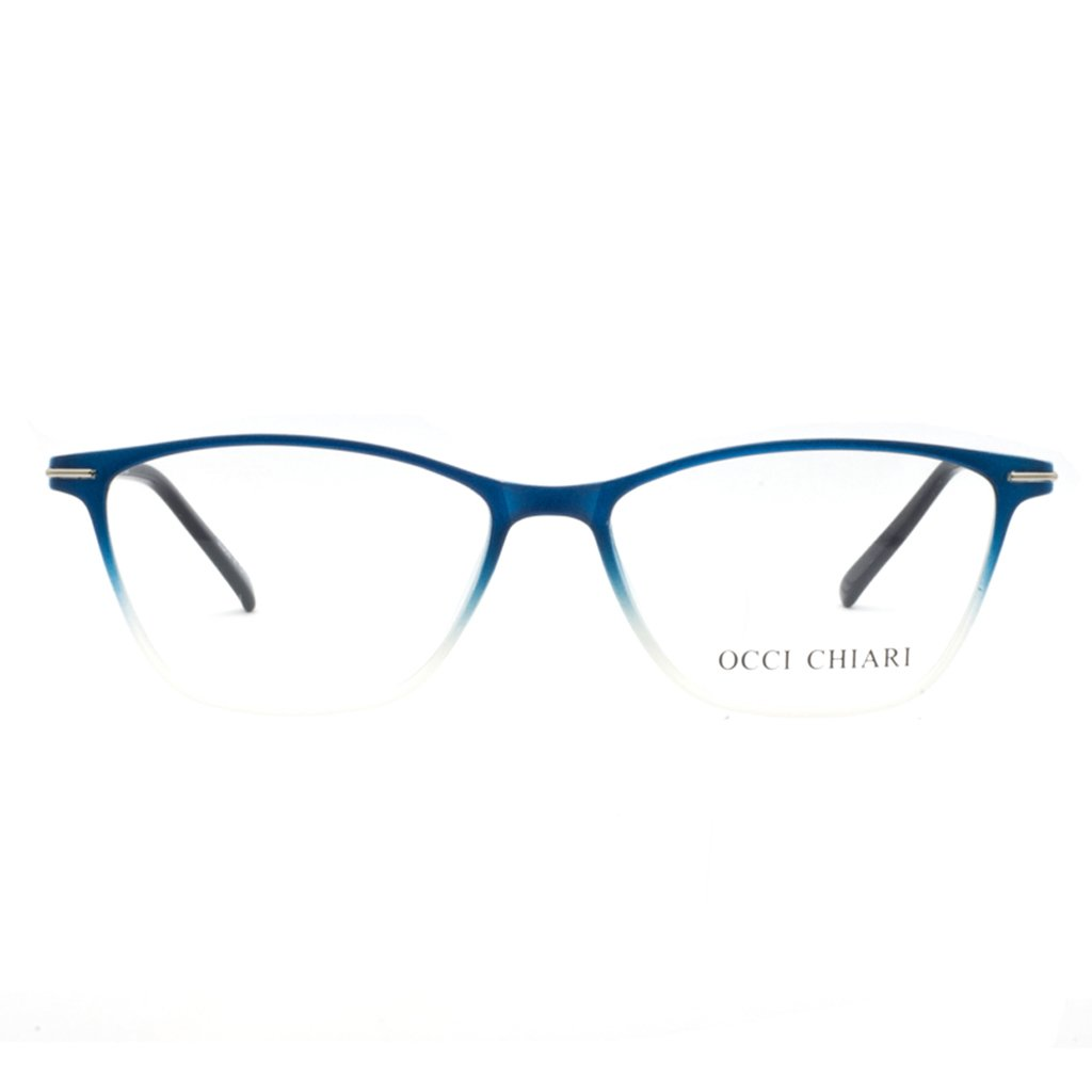 a7fa29e134a Amazon.com  Eyewear Frames-OCCI CHIARI-Rectangle Lightweight Non-Prescription  Eyeglasses Frame with Clear Lenses For Womens 52mm  Shoes