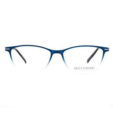 22898d51f Eyewear Frames-OCCI CHIARI-Rectangle Lightweight Non-Prescription  Eyeglasses Frame with Clear Lenses