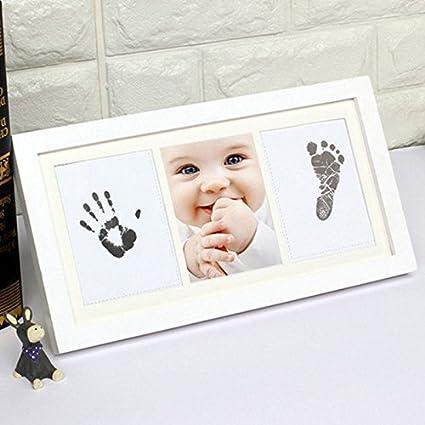 Set de regalo para recién nacido y baby shower, diseño de huellas y ...