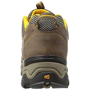 KEEN Men's Gypsum Ii Waterproof Backpacking Boot, Shiitake/Golden Yellow, 11 M US