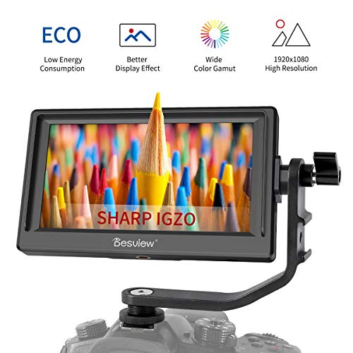 Desview Mavo-P5 Camera Field Monitor, 5.5″ Sharp IGZO Screen, 19201080 with 4K HDMI Input,DSLR-Camera-Field-Monitor