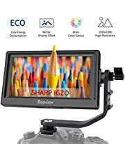 """Desview Mavo P5 Monitor de Campo 5.5"""", DSLR-Monitor-Externo-Reflex-4K HDMI 1920 * 1080 con Pantalla LCD Sharp IGZO 450nit, Compatible para Canon Sony Nikon"""