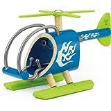 Hape e-Coptor Bamboo Kid's Toy Helicoptor