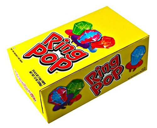 RING POP ORIG .5 OUNCES 24 COUNT -