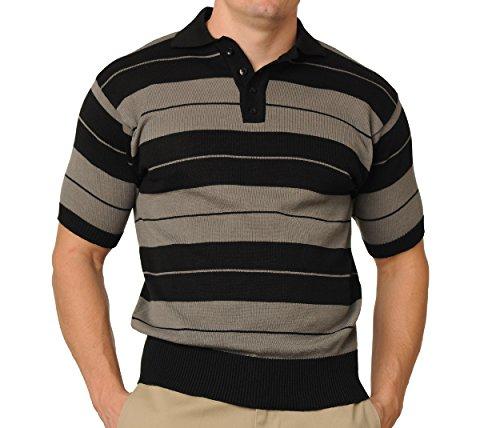 FB County Men's Charlie Brown Shirt Large Black/Grey]()