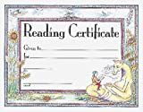 Reading Certificate, Carson-Dellosa Publishing Staff, 0742403238
