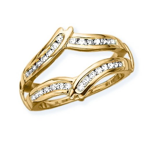14K Yellow Gold 3/8 ct. Diamon