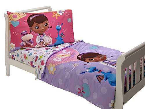 Disney 4 Piece Toddler Set, Doc Mcstuffins