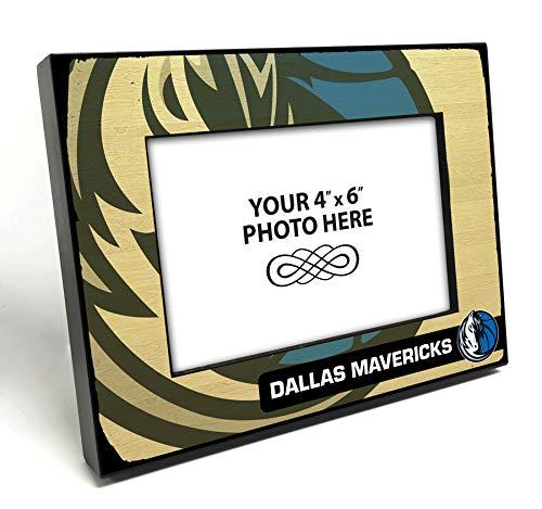 That's My Ticket NBA Dallas Mavericks Wooden Picture Frame, Multicolor, 4