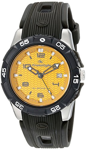 Freestyle Men's 10019189 Kampus Analog Display Japanese Quartz Black Watch