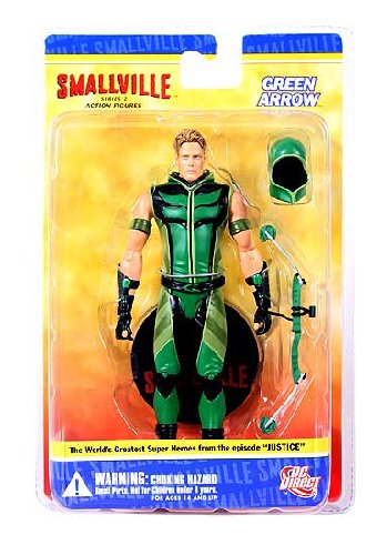 Smallville: Green Arrow Action Figure (Green Smallville Arrow)