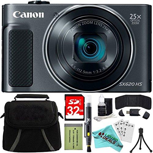 Canon PowerShot SX620 HS Digital Camera Plus Bundle Kit with