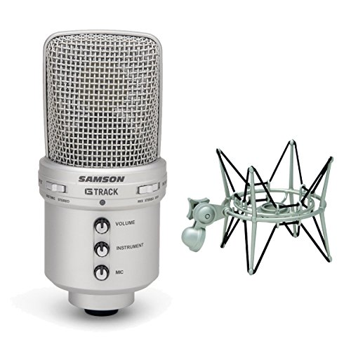 G-track Usb Mic (Samson G-Track USB Condenser Microphone with Shockmount)