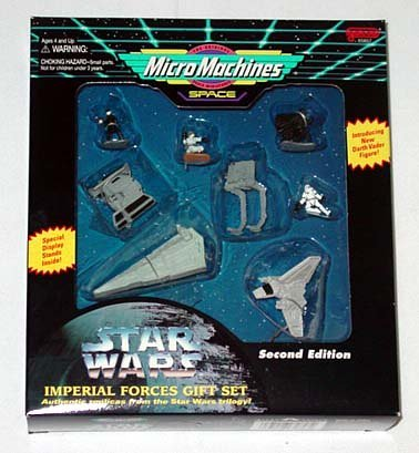 Micro Machines Star Wars Imperial Forces Gift Set, Second ()