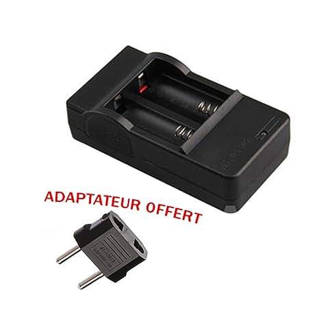 Cargador para 2 Pilas Pilas Batteries Recargable 3.7 V Li ...