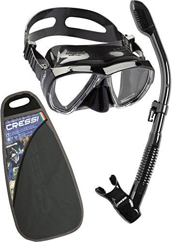 Cressi Big Eyes & Supernova Dry, black/black