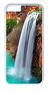 ACESR Arizona Waterfalls iPhone 6 Hard Shell Case Polycarbonate Plastics Kawaii Case for Apple iPhone 6(4.7 inch) White