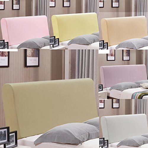 Fityle Stretch Wooden Leather Bed Headboard Cover Protector Slipcover For 140-170cm - Champagne by Fityle (Image #6)