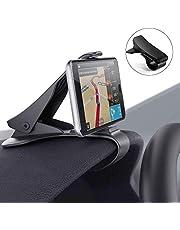 Modohe Soporte para Teléfono de Coche Montaje Móvil Universal Sujeta de Pinza Fuerte al Salpicadero para GPS Xiaomi Mi 9 Mi 8 Redmi Note 7 iPhone XR XS MAX X 8 7 6 Samsung S10 S9 Huawei P20