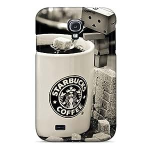 Samsung Galaxy S4 Wns14973OBUN Unique Design High Resolution Starbucks Skin Shockproof Hard Phone Cover -AlissaDubois