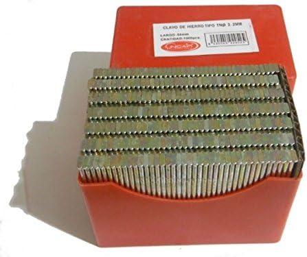 /… Cajita de clavos UNICAIR tipo 2,2 TN x 50mm de HIERRO 1.000 unidades