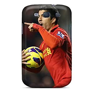 Premium [IyS952zGxD]the Best Forward Of Liverpool Luis Suarez Case For Galaxy S3- Eco-friendly Packaging