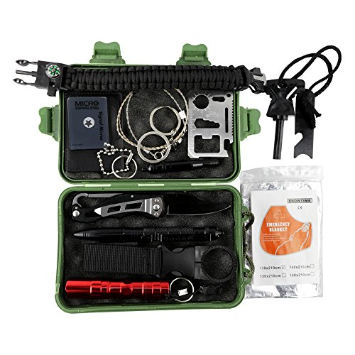 Grizzly Gear 35 Feature Survival Kit by Grizzly Gear