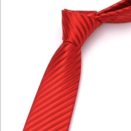 YXN Corbatas de Seda/Corbata de Etiqueta empresarial/Traje ...