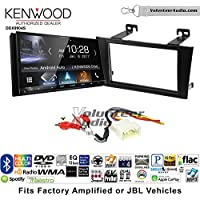 Volunteer Audio Kenwood DDX9904S Double Din Radio Install Kit with Apple CarPlay Android Auto Bluetooth Fits 2000-2004 Toyota Avalon with Amplified System