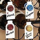 Wine Bottle Identification Tags (50 Units)