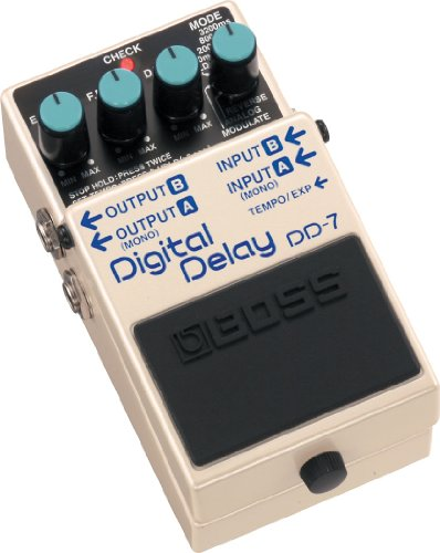 Boss DD-7 Digital Delay Pedal (Best Delay Pedal For The Money)