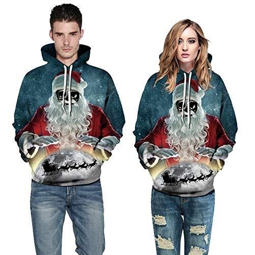 Solike Blouse Pull Manches Imprim Homme Sweats Hiver Automne Costume Couple 3D No Tops Sweatshirt Manteau e Longues l de Multicolore Outwear Femme Chemise Chaud Capuche pxxqRw0