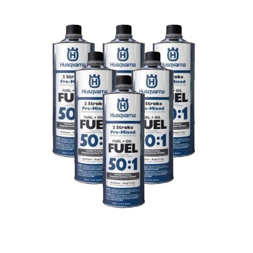 2 Cycle Fuel - Husqvarna Pre-Mixed 2 Cycle Fuel 50:1 (6 Pack) 581158701