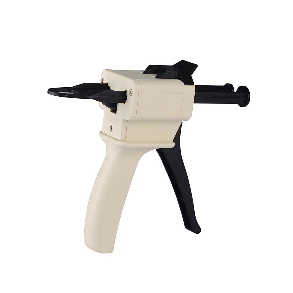 Easyinsmile Impression Mixing Dispensing Dispenser Gun 10:1/ 1:4 Ratio 50ml / 1:1 ,2:1 (1:1/1:2)