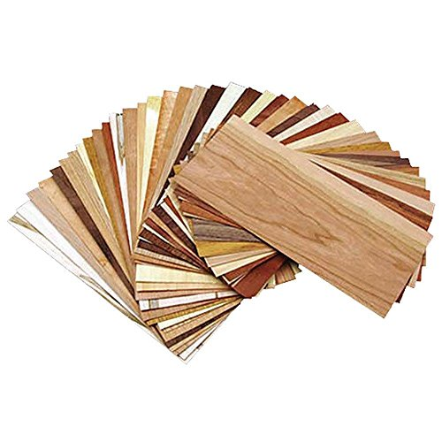 Wood Identification Kit (Exotic Wood Veneer)